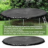 Trampolines Weather Cover, 14ft Round Trampoline