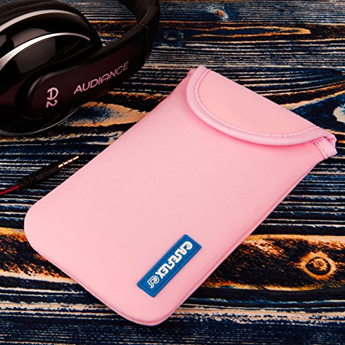Caseflex iPhone 6S / 6 Tasche Hellrosa Neoprene Beutel Hülle