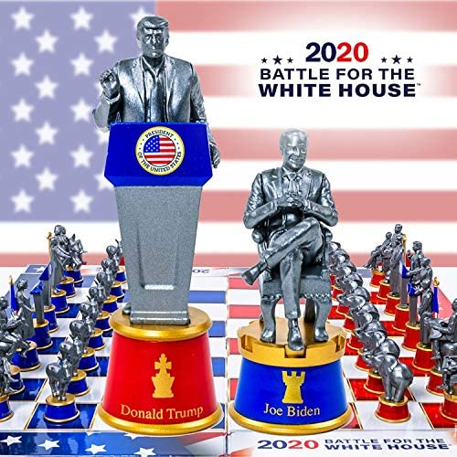 2020 Battle For The White House Chess FACTORY SEALED CERTIFICATE OF AUTHENTICITY