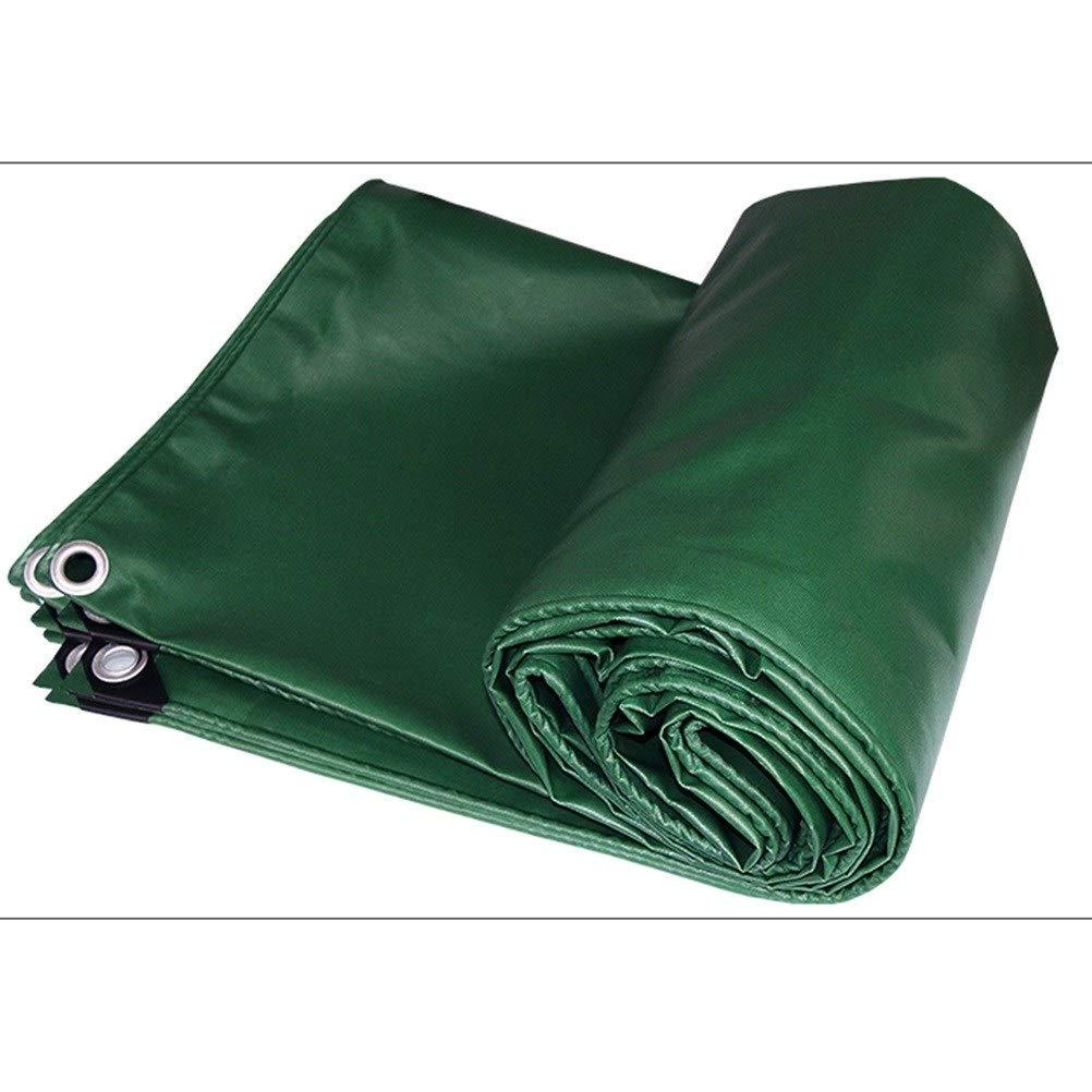 BÂche De Prougeection Imperméable, Tissu De BÂche en PVC Résistant Aux UV, Robuste Et Résistant à l'eau ZHANGQIANG (Couleur   Vert, Taille   4x4m) Vert 4x4m