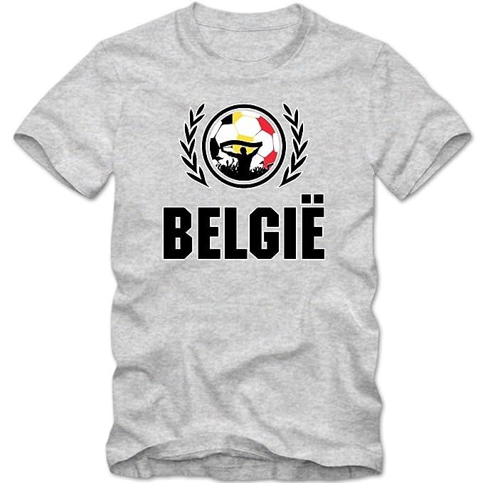 Bélgica Campeonato de Europa 2016#2 Camiseta | T-Shirt | Fútbol | Belgique