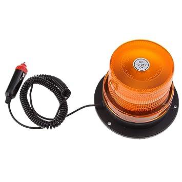 kesoto LED intermitente Luces de Advertencia de Emergencia Beacon Luz Bar Coche Truck: Amazon.es: Coche y moto