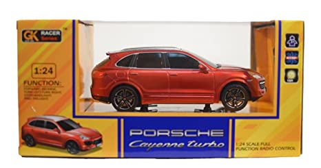GK Racer Series Porsche Cayenne Turbo 1:24 Scale Full Function (RED)