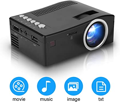 Tonysa Full HD 1080P Proyector LED Proyección de 15-110