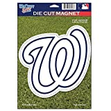 Washington Nationals Official MLB 6 inch x 9 inch Car Magnet by Wincraft