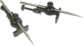 "product image for Starrett 59A 2 Trammel Heads With 2 Small Divider Points For No. 59 Series Trammel, 6"" Point Sizes"