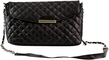 Fashion Story Women Shoulder Bag Clutch Quilting Handbag Purse Hobo  Messenger (Black) 2ebecc81e0e63
