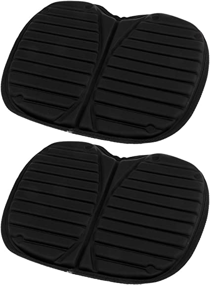 2 Pieces Seat Cushion EVA Foam Thicken Pad for Inflatable Dinghy Drifting