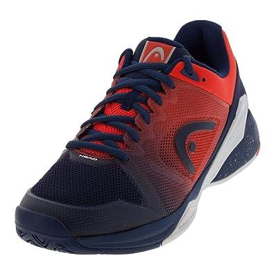 da658e7cd HEAD Men s Revolt Pro 2.5 Tennis Shoes (Blue Flame Orange) (7 D