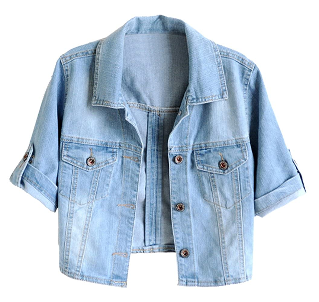 e903d246384c6b Top 10 wholesale Blue Cropped Jacket - Chinabrands.com