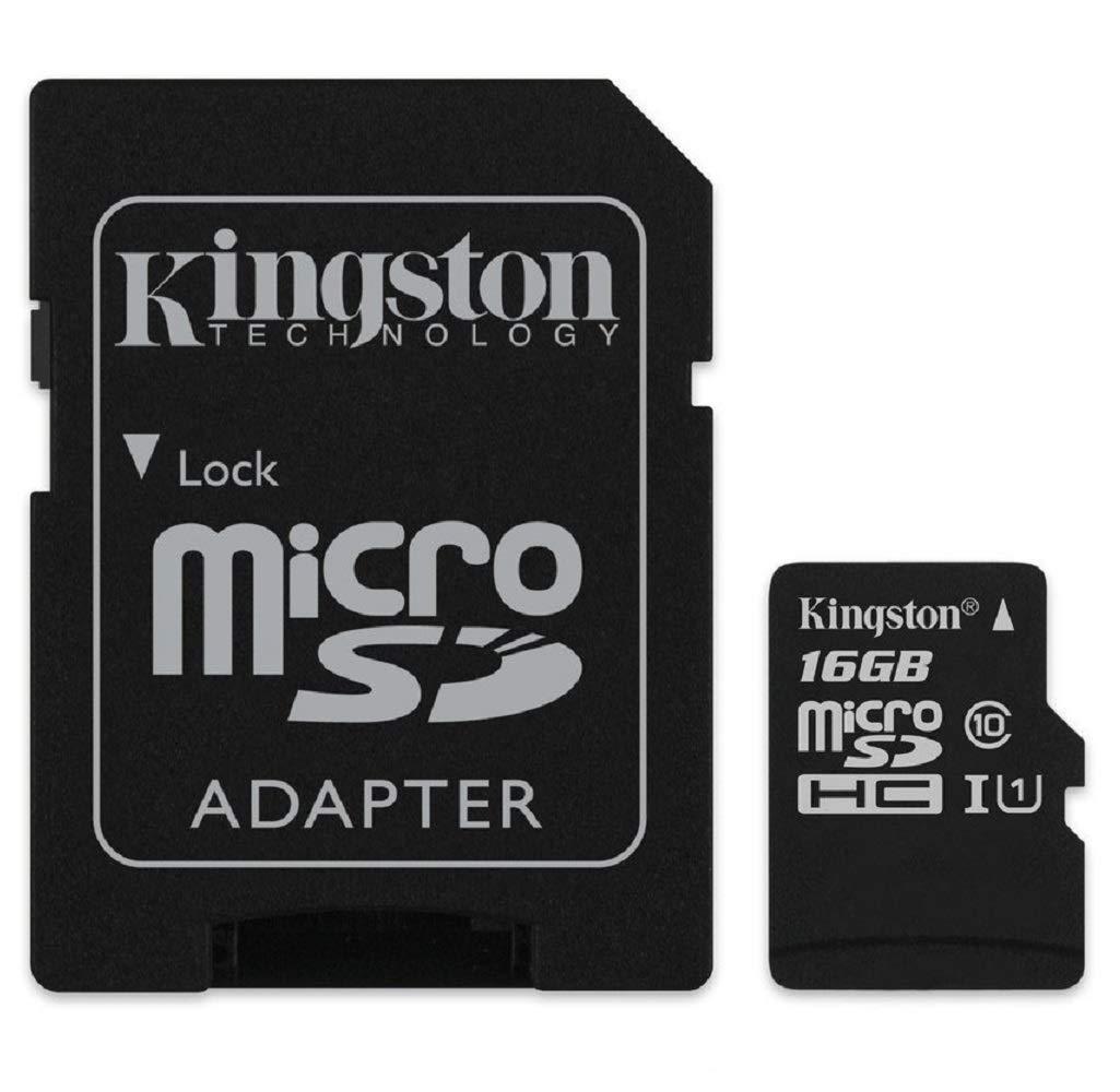 Kingston SDCS/16GB Tarjeta de Memoria Sd 1, 16 gb, Negro: BLOCK ...