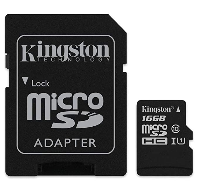 Kingston SDCS/16GB Tarjeta de Memoria Sd 1, 16 gb, Negro: BLOCK ...