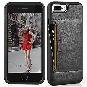 Amazon.com: iphone 7 Plus Wallet Case, ZVE Apple iphone 7