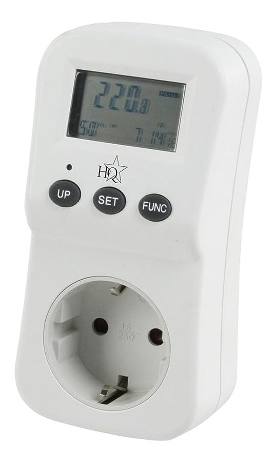 29 opinioni per HQ, Monitor di consumi energetici, con spina e presa integrata, EL-EPM02HQ