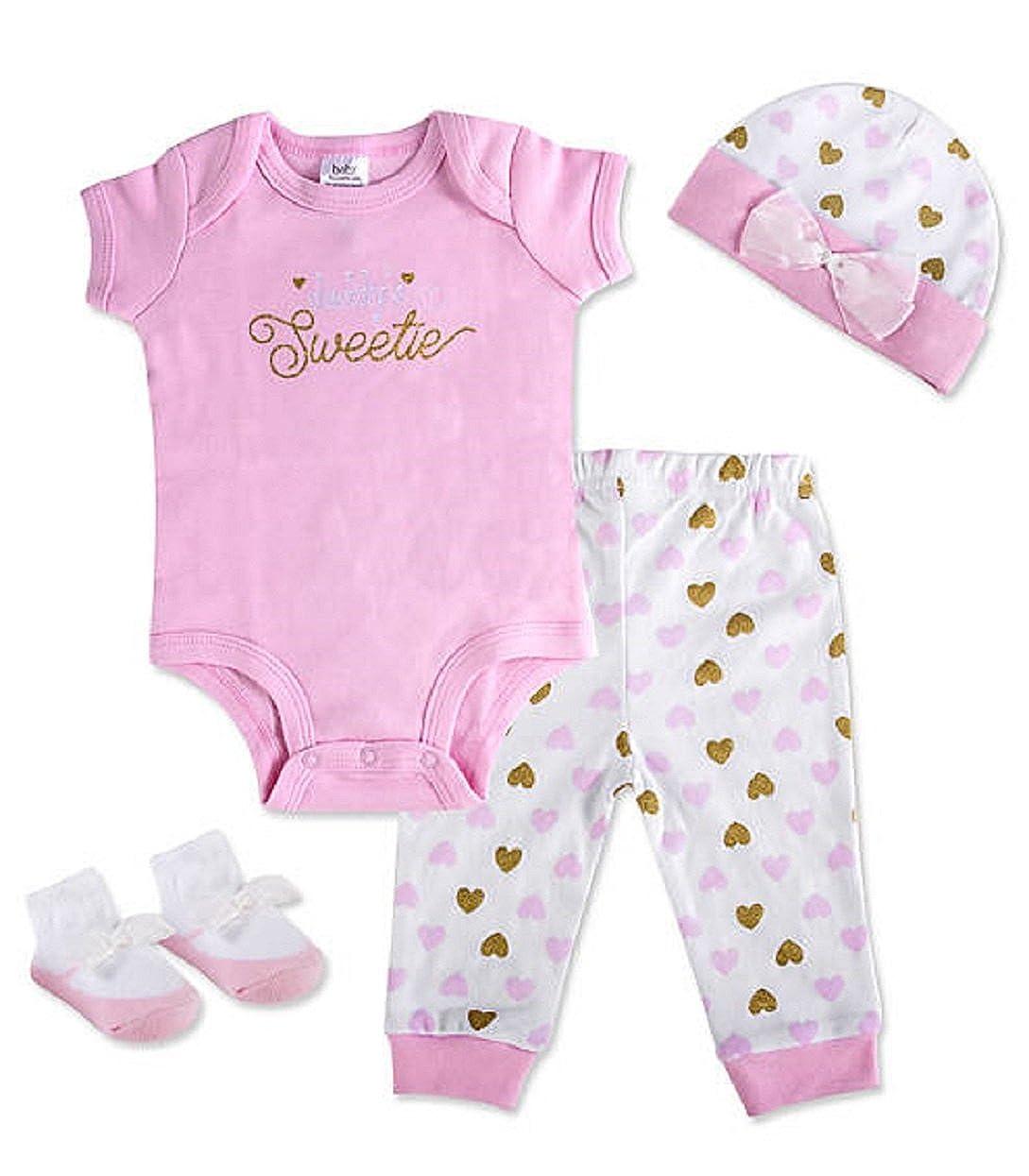 Baby Essentials Girl Gift Set