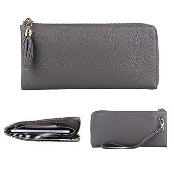 284281f578efe Befen Women Slim Leather Wristlet Wallet