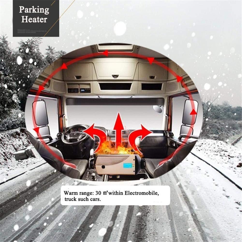 flower205 Air Diesels Heater,5KW 24V Auto Luft Diesel Standheizung,Mit Fernbedienung LCD-Monitor f/ür Wohnmobile LKW Wohnwagen Boote
