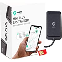 SAM GPS Security Mini Plus (with Free Android Mobile App and Web Dashboard) - Waterproof GPS Tracker Device for Car,Bike,Truck and Bus with Anti Theft Alarm and Engine Lock