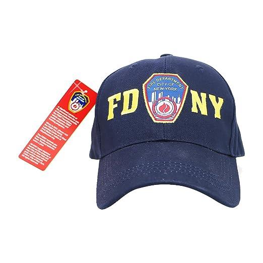 d206da4094e6 City-Souvenirs FDNY Cap Navy Baseball Cap New York Fire Department ...