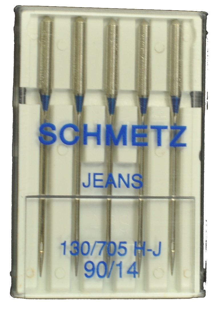 NM 100//16 SCHMETZ Sewing Machine needles JEANS 130//705 H-J 5 pieces by Schmetz