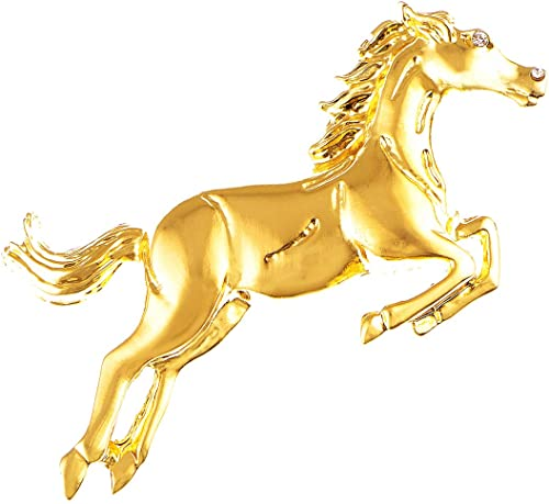 Charms Pack of 10 Gold Plated Equestrian Horse Bit Fittings In Two Styles