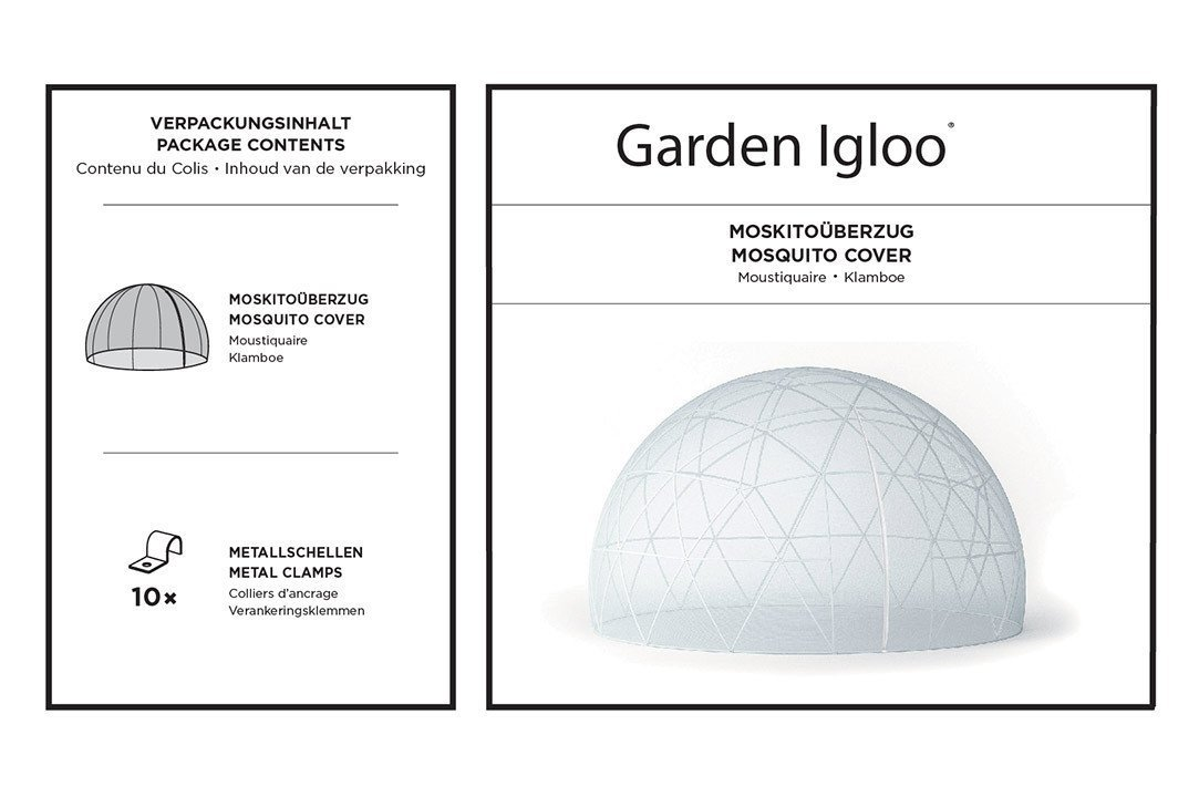Mosquito Net Cover Accessory for the Garden Igloo by Garden Igloo (Image #6)