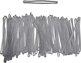 product image for 50 piece pack Luggage or bag tag loops/clear durable plastic that holds id tags,replacements