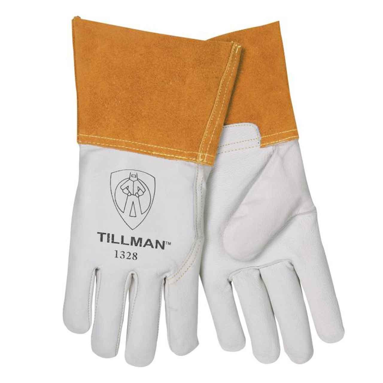 Goatskin /& Split cowhide TIG welding gloves
