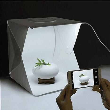 Caja de luz LED para Estudio fotográfico de 30 x 30 x 30 cm ...