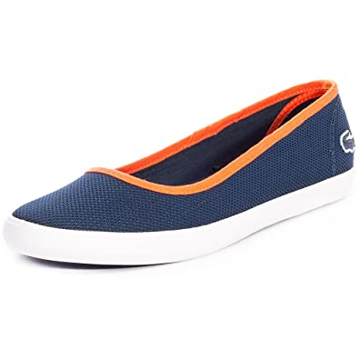 c3bed481257e86 Lacoste Womens Navy Marthe Slip On Pumps  Amazon.co.uk  Shoes   Bags