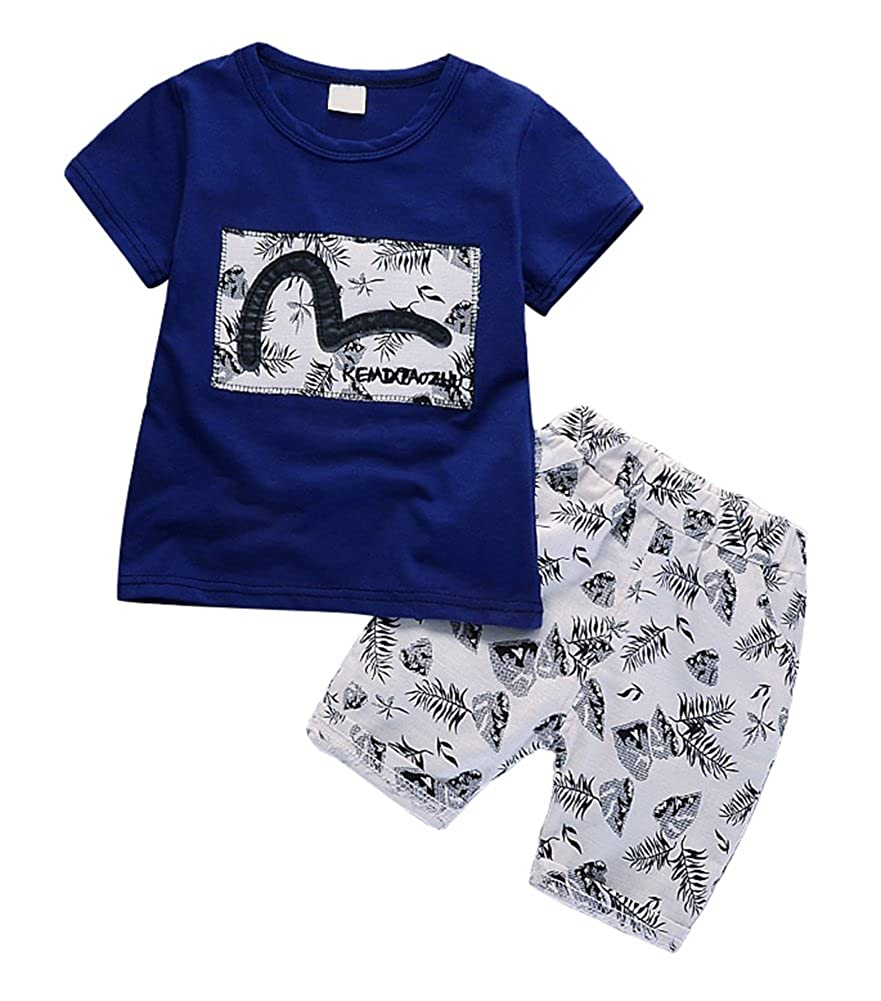 Boys/&Girls Fashionable Casual Confortable Summer Clothing Sets 18M-4T