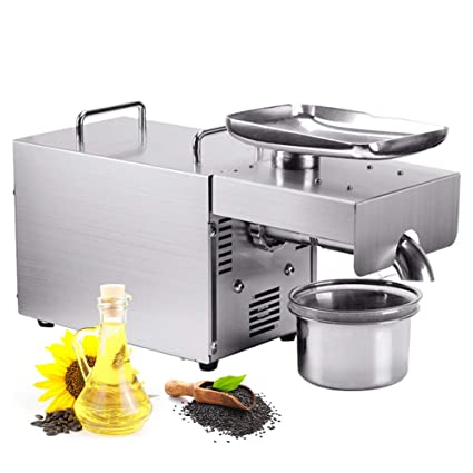 Amazon com: 1150W Oil Press Machine Home Automatic Physical Oil