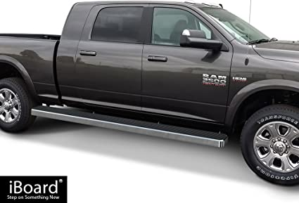 """Fit 2010-2019 Dodge RAM 2500 3500 Crew Cab 4/"""" Nerf Bars Side Step Running Boards"""