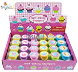 24 Pcs Cupcakes Stampers for Kids