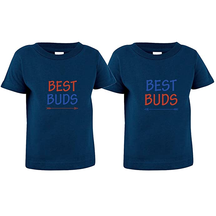 Best Buds Style 2 Toddler Baby Kid T-Shirt Tee Twin Set
