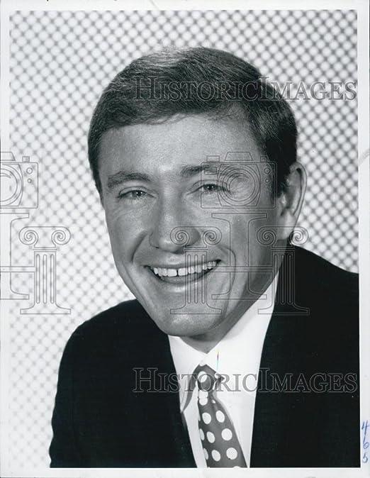 Vintage Photos 1969 Prensa Foto Actor MERV Griffin Retrato Risa ...