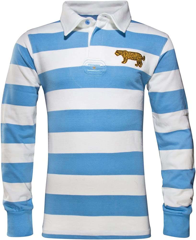 World Beach Rugby Argentina - Camiseta de Rugby Vintage - Azul ...