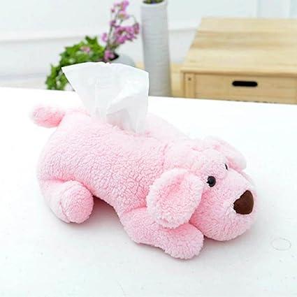 appoi Teddy perro suave toalla de felpa caja Tejido decoración para el hogar cajas de papel