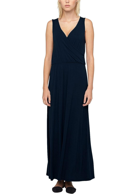 s.Oliver Damen Kleid 14.506.81.8127, Maxi, Einfarbig