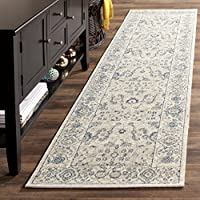 Safavieh Patina Collection PTN326H Taupe Cotton Runner (22 x 12)