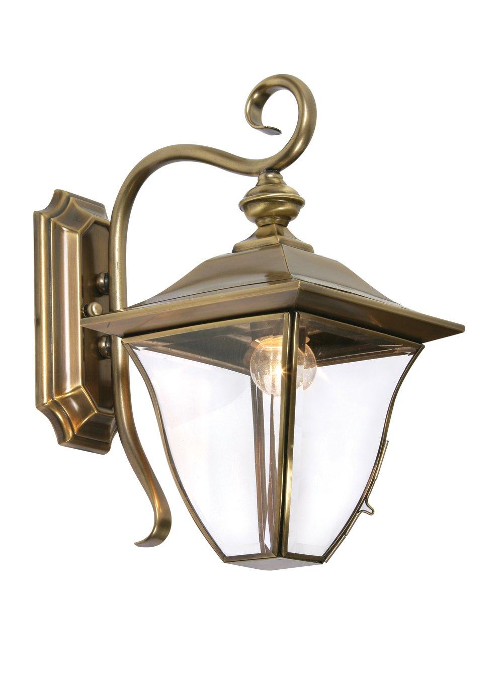 Oaks Lighting Callan Außen-Wandleuchte Außen-Wandleuchte Außen-Wandleuchte Messing 128a2f