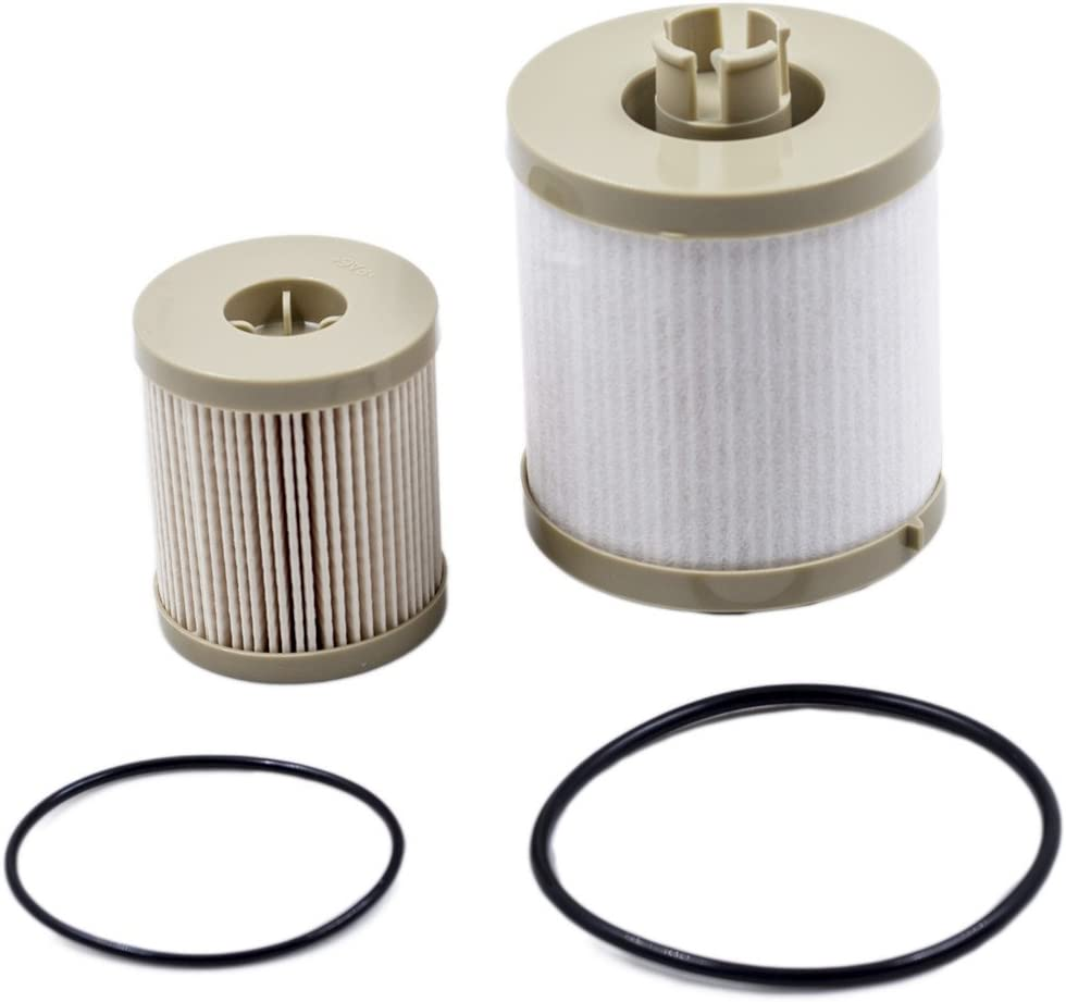 for 6.0L And FL2016 Oil Filter for Ford F250 Super Duty F350 Super Duty F450 Super Duty F550 Super Duty 2003-2007 Ford Excursion 2003-2005 iFJF FD4616 Fuel Filter