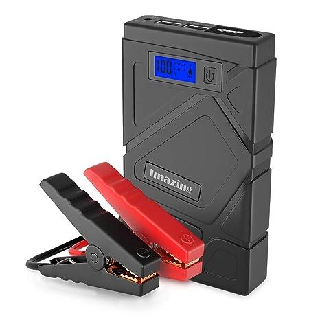 Amazon.com: Imazing - Arrancador portátil para coche (600 A ...