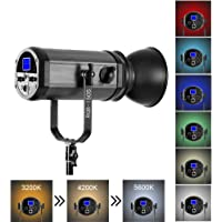 GVM 150W RGB Video Lights with Bowens Mount for YouTube Studio Boardcast TV Interview