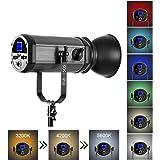 Ardinbir Studio Photo 320w 5600K DayLight Video Slave Master Strobe Monolight Flash Light Stand Kit with Dimmer Control and Barndoor