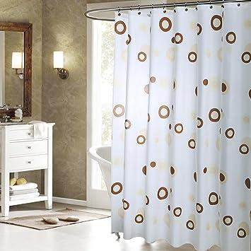 emotionlin WC-Vorhang Aufhängen Vorhang Badezimmer Bad Vorhang ...