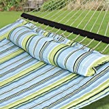 SueSport NEW Hammock Quilted Fabric with Pillow Double Size...