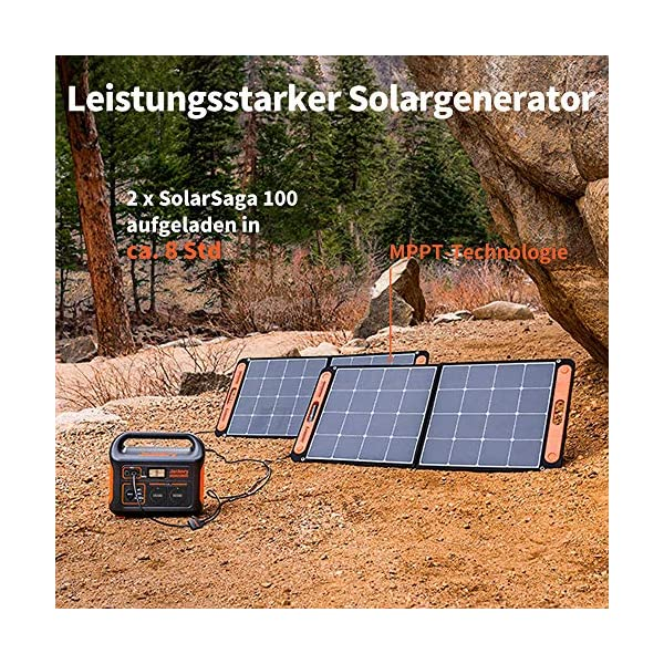 61yLdhUzamL Jackery Tragbare Powerstation Explorer 1000 - 1002 Wh AKKU Solar Generator & Mobiler Stromspeicher mit 230V Steckdose…