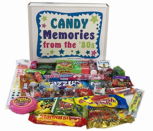 Woodstock Candy Retro Nostalgic 1980s Candy Gift Box - Memories of Life from the '80s Decade