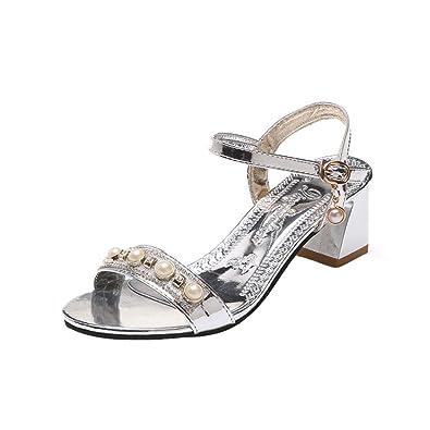 À De Sandales FemmeAmazon D'été Chaussures Luckycat Été Yb7y6gvf